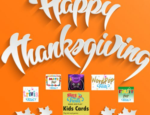 Happy Thanksgiving and 20% off Kids Cards